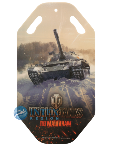 Ледянка World of Tanks 92х0,5смСанки, Ледянки, Тюбинг<br>Т58180<br>