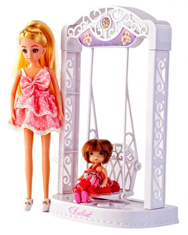 Кукла с качелями «Лелия» (Doll, swing can move whin battery)